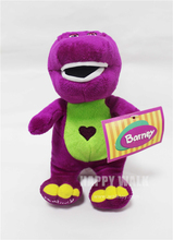 Barney And friends plush toy Barney dinosaur doll 30cm small stuffed dinosaur plush kids birthday gift(China)