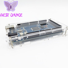 Enclosure Transparent Gloss Acrylic Box Compatible for arduino Mega 2560 R3 Case