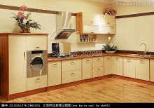 Professional kitchen cabinet set