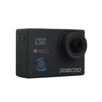 SOOCOO C50 Deportes Cámara de Acción Wifi 4 K Gyro ángulos de Visión Ajustables NTK96660 30 M Impermeable Del Deporte DV