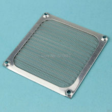 2Pieces lot 80mm PC Computer Fan Cooling Dustproof Dust Filter Case fr Aluminum Grill Guard