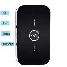 Portable Wireless Bluetooth 2-in-1 Audio Receiver+Transmitter Adapter HIFI Audio Player Aux Stereo Music Receiver 3.5mm