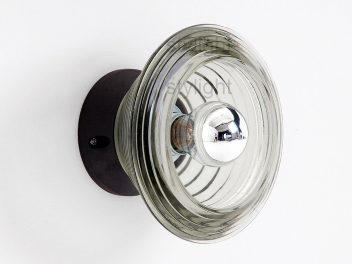 Tom-Dixon-Pressed-Glass-Bowl-Wall-Light