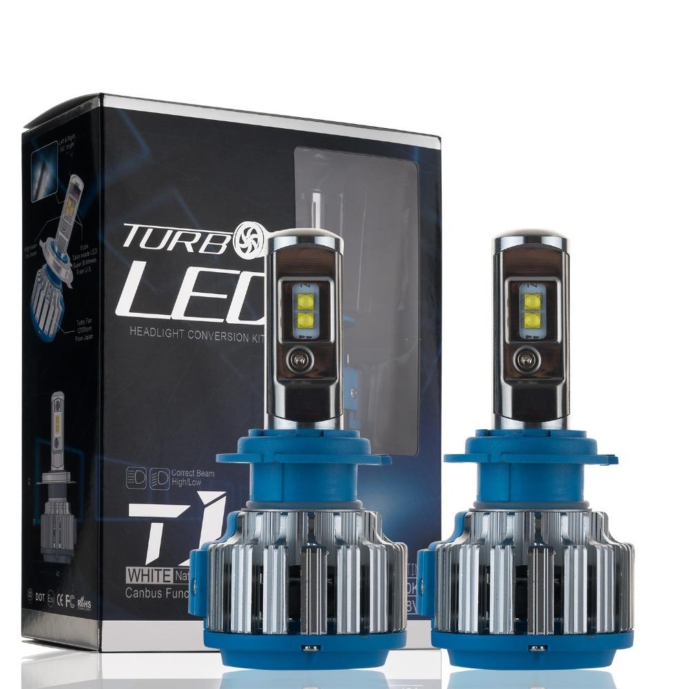 1 Pair 70W 7000LM Auto Car LED Headlight H7 H8 H9 H11 9005 9006 6000K High Power Leds Headlamp Light Bulbs Kit<br><br>Aliexpress
