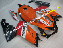 Hot Sales,For Aprilia RS125 2006 2007 2008 2009 2010 2011 RS 125 06-11 Repsol Moto Fairing set + Free Gifts (Injection molding)
