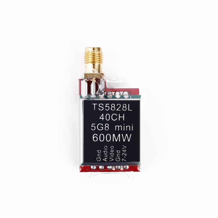 TS5828L Micro 5.8G 600mW 40CH Mini FPV Transmitter with Digital Display<br><br>Aliexpress
