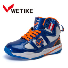 Brand WETIKE Basketball Shoes Children Primary School Student Sports Shoes Girls Boys Teenagers Running Sneakers EU 31 to 38(China)