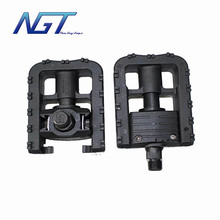 Top Quality NGT Universal Alloy Mountain Bike Bicycle Folding Pedals Non-slip Black free shipping