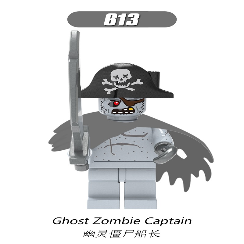 XH613-Ghost Zombie Captain
