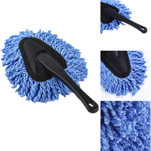 Mini Multifunctional Car Dust Brush Cleaning Auto Computer Keyboard Dirt Wax Brushes Duster Mop Car Home Cleaning Tools