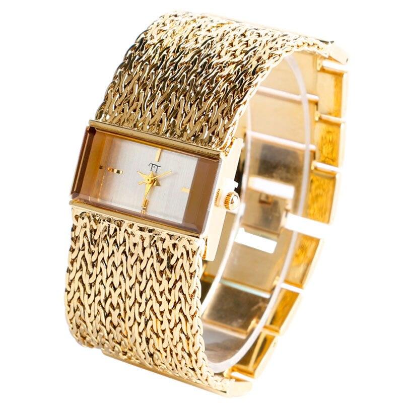 Top Brand Luxury Women Wristwatches Quartz Watch Fashion Luxury Bracelet Watches Dress Relogio Feminino Gifts Reloj Mujer Gold<br><br>Aliexpress