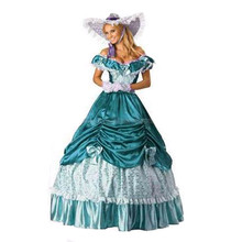 Promotion Shipping Light Colonial Civil War Scarlett southern Belle Lolita  Cosplay Ball Gown  party d7c76ff205bf