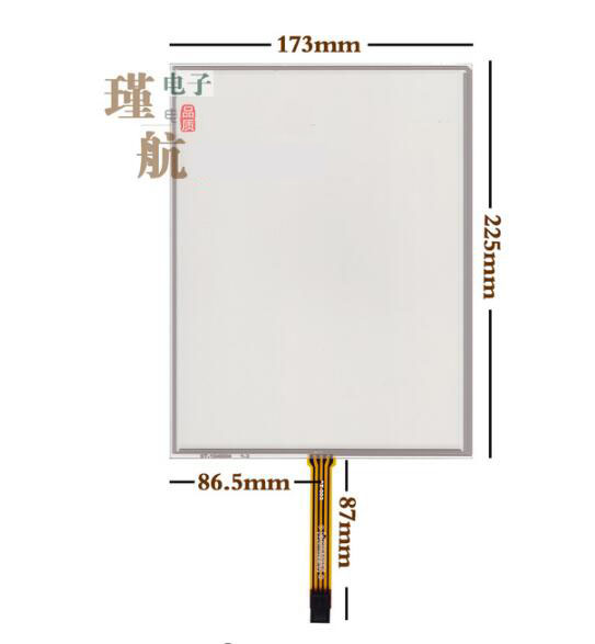 10.4 inch touch screen 5 line ELO SCN-AT-FLT10.4-Z03-0H1-R 001-0H1 AMT2507<br>