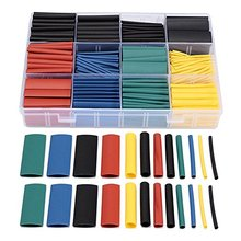 530pcs Heat Shrink Wire Wrap Cable Sleeve Tubing Sets Electric Insulation Tube 5 Colors 8 Sizes