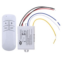 30m control Wireless ON/OFF 3 Ways 220V Lamp Remote Control Switch Receiver Transmitter for modern low-pressure lamp/droplight