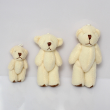1pack/20pcs Mini Joint Bear Plush toys Wedding gifts Kids Cartoon toys Christmas gifts Couple Gifts Wholesale Hot sales(China)