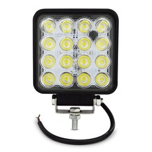 4INCH 48W LED WORK light 12V OFF ROAD 4X4 tractor TRUCK 24V MOTORCYCLE ATV offroad fog lamp 48W LED Working DRIVING LIGHT bulbs