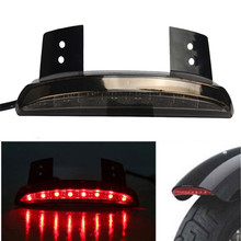 Motorcycle Lights Smoke Len Rear Fender Edge LED Tail Light For Harley Davidson Wonderful4.27/30%