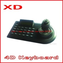 DHL Free shipping 4D vision Joystick  PTZ Keyboard Controller  CCTV speed dome  Keyboard Controller cctv camera controller