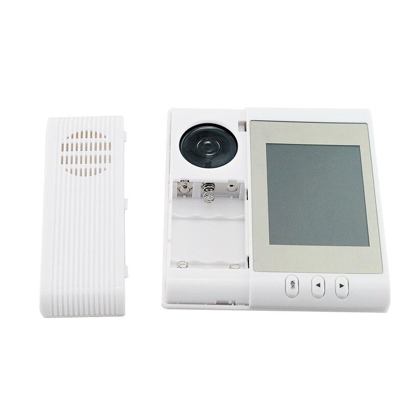 2.8 LCD Monitor Digital Door Peephole Viewer Home Security Camera Cam Doorbell<br>