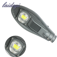 LAIDEYI 50W LED Street Lights Road Lamp IP65 Waterproof AC85-265V Led Streetlight Garden Lamp Outdoor Lighting 5000 lumens(China)