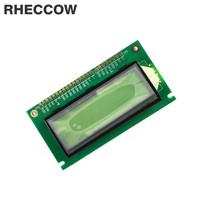 RHECCOW 5v 12232 122x32 Dots Matrix LCD Module Yellow Green LED Backlight Black character LCM Serial port / parallel port(China)