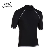 HOT! Men Beach sunscreen clothing wear,Snorkeling, surfing shirt,Tight, isolate UV, protecting the skin,swimwear