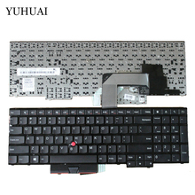 New US KEYBOARD for Lenovo ThinkPad Edge E530 E530C E535 04Y0301 0C01700 V132020AS3(China)