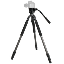 JY0509C Hydraulic Video Timelapse Camcorder Tripod 65mm Bowl Head,Birding DSLR Canon Nikon Sony Cameras - I-Film Store store