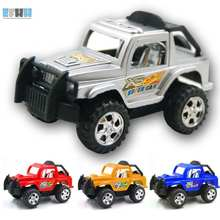 EFHH Plastic Toys Puzzle Toy Car Jeep off-road Vehicle For Children Kids Gifts