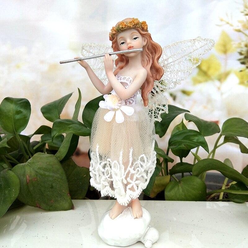 Beautiful Resin Artificial Lovers Statue Wedding Decor Home Garden Ornament