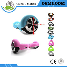 Electric bicycle Non slip waterproof Anti Scratch 6.5 inch 2 Wheels Self Balancing Scooter Silicone Case/Sleeve/Enclosure - Green E-motion Store store