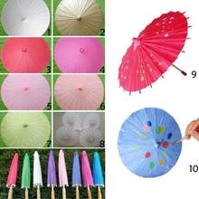 1pc fashion Art umbrella classical paper umbrellas Decorated dance costume umbrella performance photography supplies A35