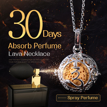 45cm Accessories Lava Necklace Pendant Volcanic Stone Chain Statement Necklace Women Perfume Lava Ball Lucky Choker Jewelry Gift(China)