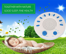 Professional Sound Relaxation Machine Sleep Snoring Sleep Helper with 9 High Quality Nature Music Sleep Monitor Health Care(China)