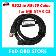 OBD2 Cable and Connector RS232 to RS485 Cable for MB STAR C3 for Multiplexer Car Diagnostic Tools Cable free shipping(China)