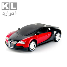 KL Hight Quality BUGATTI Model Drift Speed Radio Remote Control RC Truck Racing Car Xmas Children's Day Gift For Boy 089-27086(China)