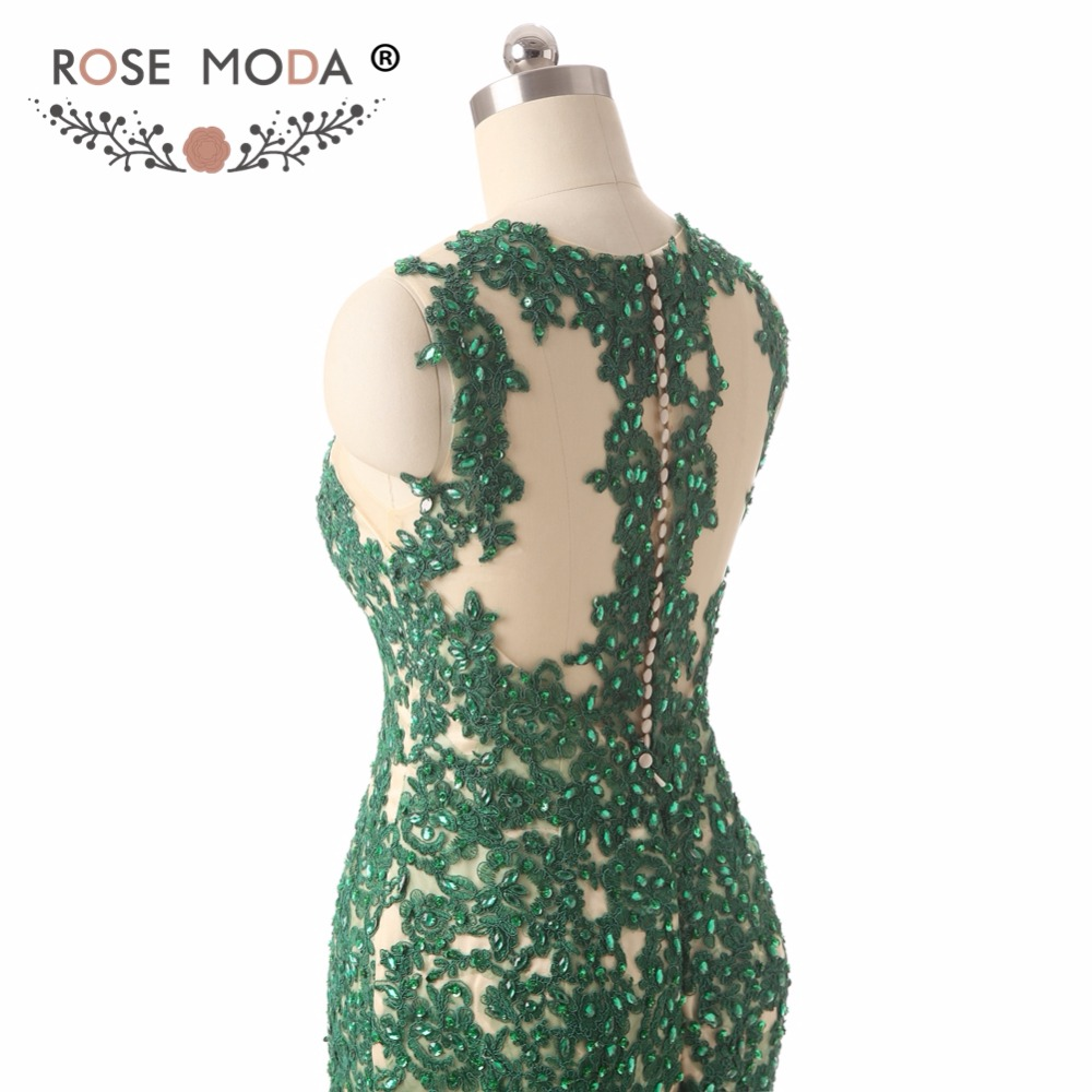 green prom dresse
