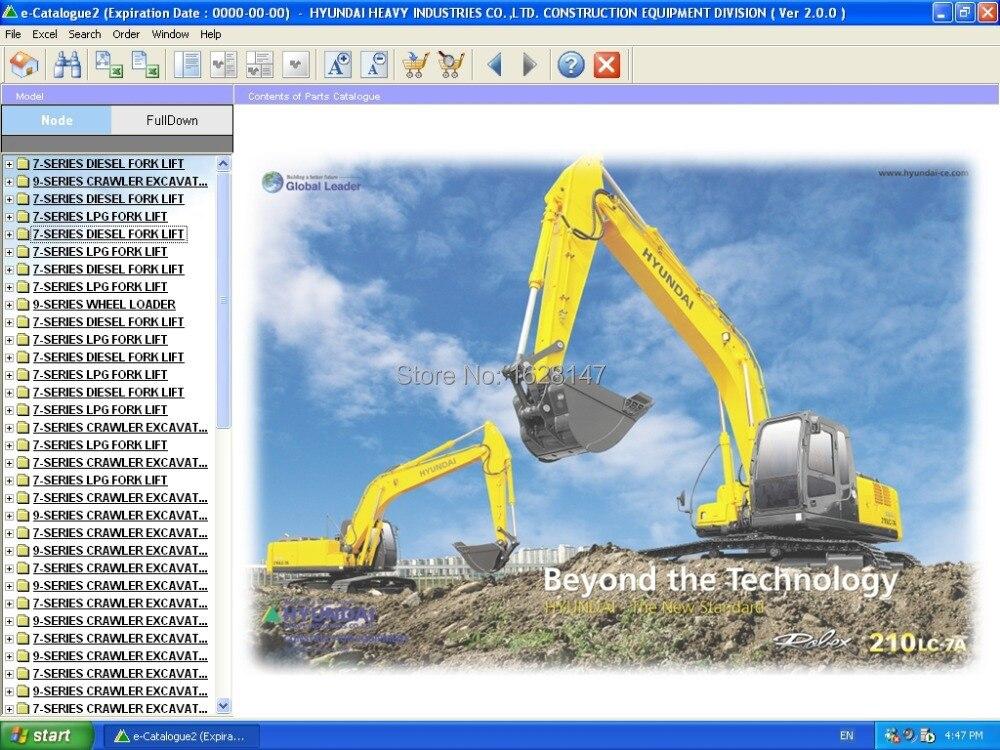 Robex 2013 Fork Lifts, Crawler Excavators, Wheel Excavators, Wheel Loaders, Skid Steer Loaders+crack for Hyundai<br><br>Aliexpress