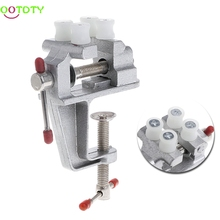 Mini Vise Tool Aluminum Small Jewelers Hobby Clamp On Table Bench Vice(China)