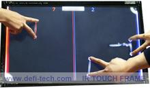 2 points 40 Inch High Definition Touch Screen Monitor / IR touch screen frame