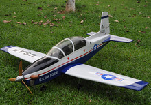 "Sport Scale Plane T-6A Texan II RC Airplane Gas 8 CH 30cc 78.7"" Balsa Wood Model(China)"