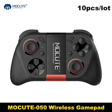 DHL 10pcs/lot MOCUTE 050 Game pad Bluetooth Gaming Controller Joystick Shutter Remote Control for iPhone IOS Andriod Smart Phone