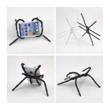MOONBIFFY Spider Mobile Phone Holder For Iphone 6 Plus Stent For Samsung S6 Edge S5 Car Holder Stand Support Cell Phone Holder