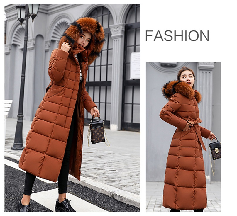 winter long jacket women