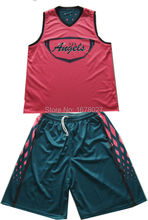 Custom made your basketball team sets sublimation Basketbal Uniforms(China)