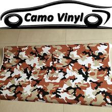 Car Styling Auto Vehicle Wraps Covers Urban Camouflage Vinyl Wrapping Black Brown White Camo Film Sticker Air Bubble Free(China)