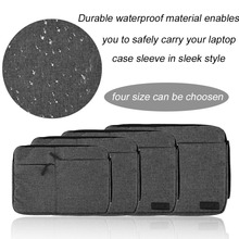 Hot 11 13 15 15.6 Inch Multi-functional Waterproof Outdoor Travel Laptop Computer Handbag Protective Bag For Apple For Lenovo(China)