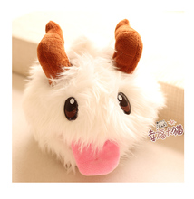 Gift for baby 1pc 20cm little creative goat PORO sleep plush hold doll novelty children kids birthday stuffed toy