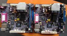 C3VCM2 mini motherboard POS machine set with CPU memory